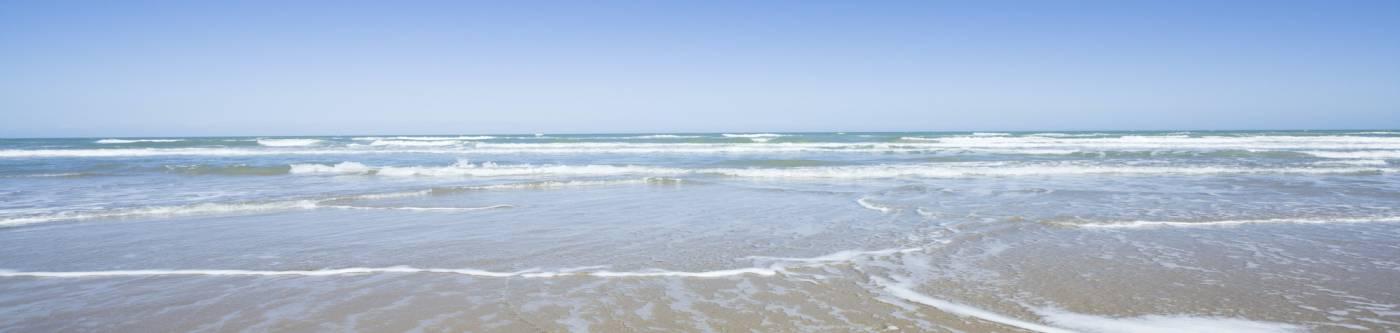 A beach near Port Aransas